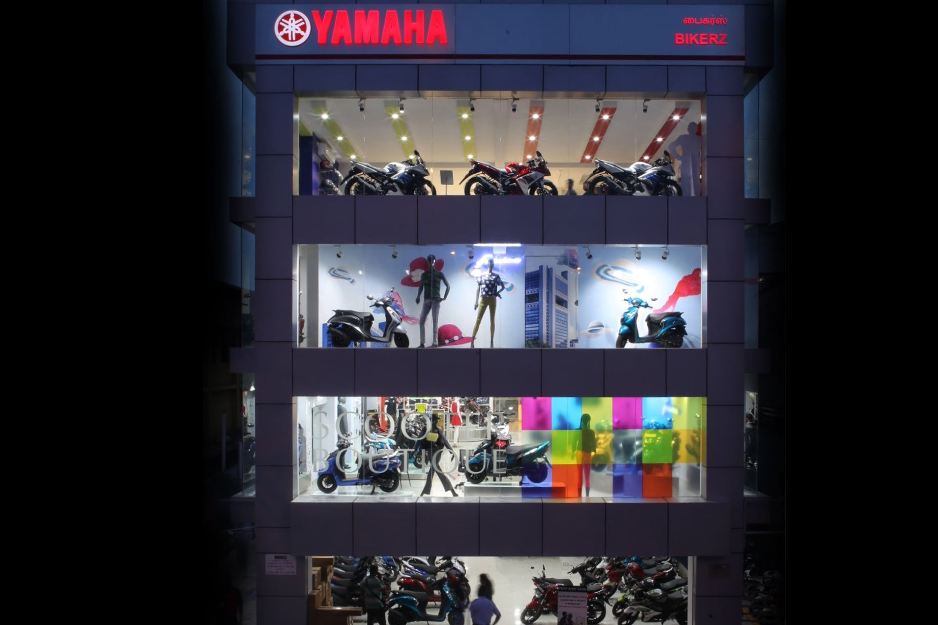 Yamaha Scooter Boutique in Chennai