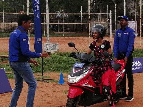 The Call Of The Blue Fiesta - Safe riding promotion initiative by Yamaha India