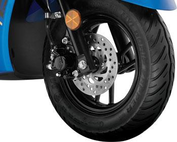 Yamaha Alpha - Tubeless Tyres