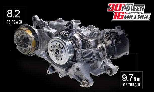 YAMAHA FASCINO 125 FI ENGINE