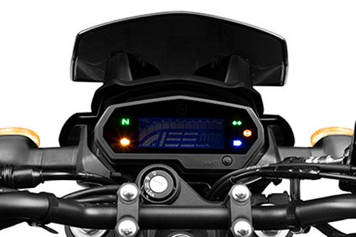 Yamaha FZS 25 BS VI cluster