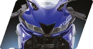 yamaha yzf r15 v3 sports bike mileage specification images