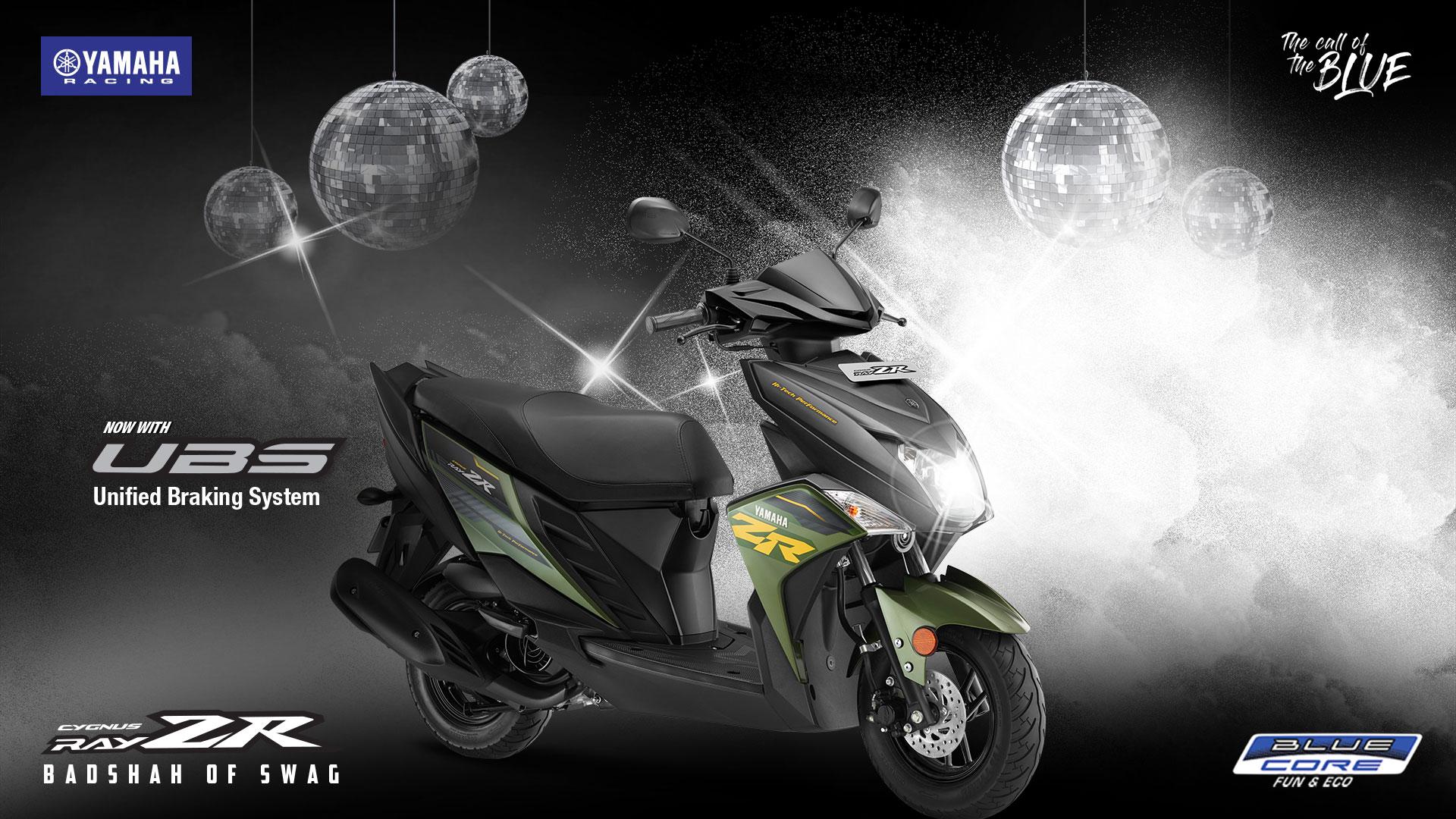 Yamaha RAY ZR Moto GP Edition Price, Model, Mileage, Specs