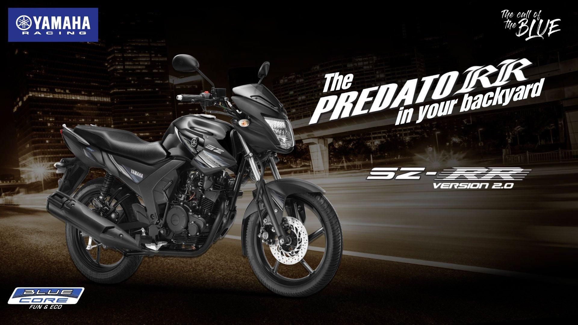 Yamaha SZ RR Bluecore Price, Model, Mileage, Specs, Images ... on