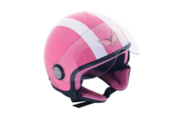 Avion-pink Yamaha Avion Half Face Helmet